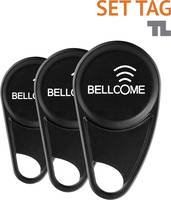 Bellcome SET.TAG.BLC.2S0 Videó kaputelefon Transzponder Fekete Bellcome