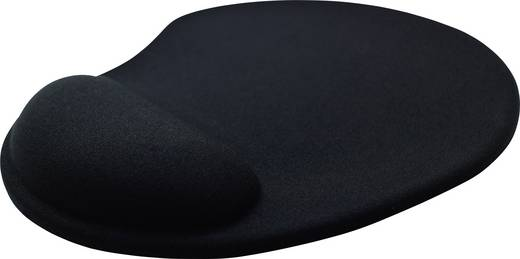 Ergonómikus egérpad, fekete, Basetech BS-MP-ERGO