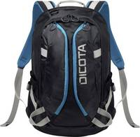 """Dicota Notebook hátizsák Backpack Active Alkalmas: Max.: 39,6 cm (15,6"""") Fekete, Kék Dicota"""