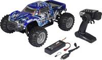 1:10 RC kezdő modellautó Elektro Monstertruck 4WD RtR 2,4 GHz Reely Cyclone Brushed (1611460) Reely
