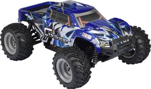 1:10 RC kezdő modellautó Elektro Monstertruck 4WD RtR 2,4 GHz Reely Cyclone Brushed
