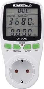 Basetech EM-3000 Energiafogyasztás mérő Költség előrejelzés (BT-1611632) Basetech