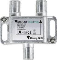 Axing BAB 1-24P Kábel-TV leágaztató 1 csatornás 5 - 1218 MHz Axing