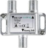 Axing BAB 1-20P Kábel-TV leágaztató 1 csatornás 5 - 1218 MHz Axing