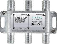 Axing BAB 4-12P Kábel-TV leágaztató 4 részes 5 - 1218 MHz Axing