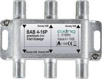 Axing BAB 4-16P Kábel-TV leágaztató 4 részes 5 - 1218 MHz Axing