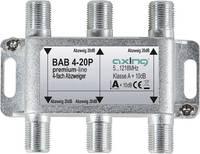 Axing BAB 4-20P Kábel-TV leágaztató 4 részes 5 - 1218 MHz Axing