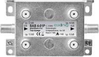 Axing BAB 4-01P Kábel-TV leágaztató 4 részes 5 - 1218 MHz Axing