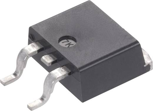 MOSFET (HEXFET/FETKY), N csatornás, ház típus: D2PAK, I(D) 64 A, U(DS) 55 V, International Rectifier IRFZ48NS