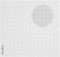 DoorBird A1061W IP videó kaputelefon WLAN, LAN Kiegészítő gong Fehér (A1061W) DoorBird