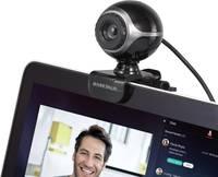 Webkamera 640 x 480 pixel, csíptetős tartó/talp, Basetech Classic BS-WC-01 Basetech