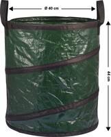Összecsukható kerti zsák 56 l zöld, Basetech BT-1702852 (BT-1702852) Basetech