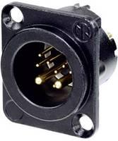 Neutrik XLR csatlakozó Peremes dugó, egyenes érintkezők Pólusszám: 10 Fekete 1 db Neutrik