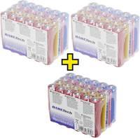 Alkáli mangán mikroelem készlet, 72 db, Basetech Basetech