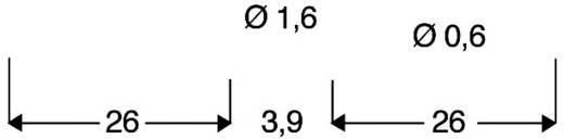 Ultragyors szilícium dióda 1N 4148 150 mA U(R) 75 V Diotec