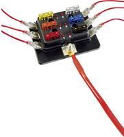 SecoRüt FHA506 LED Áramkörelosztó Lapos biztosíték Pólusszám 6 30 A 1 db SecoRüt