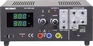 Labortápegység, szabályozható VOLTCRAFT VLP-1303 USB 0 - 30 V 0.01 - 3 A 123 W OVP Kimenetek száma 3 x (VC-8146845) VOLTCRAFT