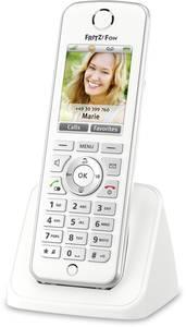 AVM FRITZ!Fon C4 International Vezeték nélküli VoIP telefon Kihangosító, Headset csatlakozó Színes kijelző Fehér, Ezüst AVM
