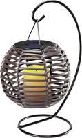 Napelemes dekorációs világítás 0.08 W, borostyán, Polarlite MEGA, barna (PL-8220880) Polarlite