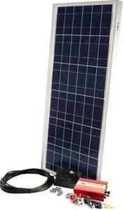 Napelemes készlet PX 60, PDA300 Sunset 10556 60 Wp Inverterrel, Csatlakozókábellel, Töltésszabályozóval (10556) Sunset