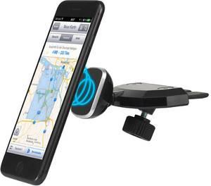 Autós mobiltelefon tartó Renkforce KFZ-CD1M Mágneses rögzítés (RF-3294076) Renkforce