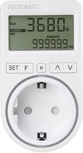 VOLTCRAFT SEM4500 Energiafogyasztás mérő Költség előrejelzés, Riasztó funkció, Beállítható áramtarifa (VC-8235895) VOLTCRAFT