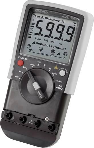 Digitális kézi multiméter lakatfogó adapterrel CAT III 600 V kijelző (digitek): 6000 VOLTCRAFT VC281