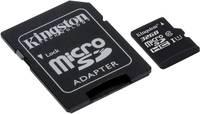 mikro SDHC kártya 32 GB Kingston SDC10G2 Class 10 UHS-I SD adapterrel, Vízálló Kingston