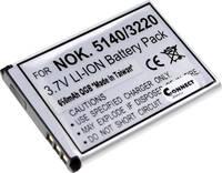 Kamera akku Connect 3000 Megfelelő eredeti akku BL-5B (117778) Connect 3000