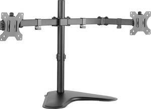 """Asztali monitortartó 2 monitorhoz, 33-81,3 cm (13-32"""") állítható magasság, dönthető, csuklóval mozgatható, LogiLink BP0045 LogiLink"""