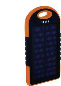 Xlayer Powerbank Plus 212847 Napelemes akkutöltő Töltőáram napelem (max.) 120 mA Kapacitás (mAh, Ah) 4000 mAh Xlayer