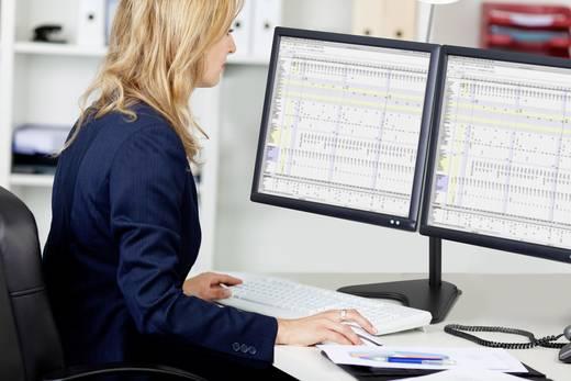 """2 részes Monitor asztali tartó 33,0 cm (13"""") - 81,3 cm (32"""") Dönthető + forgatható, Forgatható SpeaKa Professional Secun"""