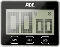 Digitális időzítő, visszaszámláló, fekete, ADE TD 1203 ADE