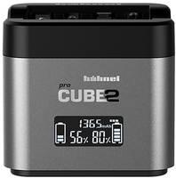 Hähnel Pro Cube 2, Nikon 10005710 Kamera akkutöltő Hozzávaló akku Lítiumion, NiMH Hähnel