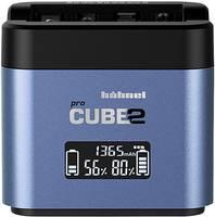 Hähnel Pro Cube 2, Fuji, Panasonic 10005730 Kamera akkutöltő Hozzávaló akku Lítiumion, NiMH Hähnel