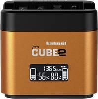 Hähnel Pro Cube 2, Sony 10005720 Kamera akkutöltő Hozzávaló akku Lítiumion, NiMH Hähnel