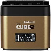 Hähnel Pro Cube 2, Olympus 10005740 Kamera akkutöltő Hozzávaló akku Lítiumion, NiMH Hähnel