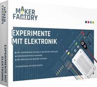 MAKERFACTORY Tanulókészlet, elektronikai kísérletek (Experimente mit Elektronik) MAKERFACTORY
