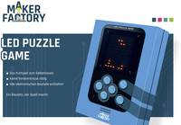 MAKERFACTORY LED Puzzle Game Retro videójáték 14 éves kortól MAKERFACTORY
