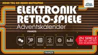 Adventi naptár MAKERFACTORY Elektronik Retro-Spiele (4019631150295) MAKERFACTORY