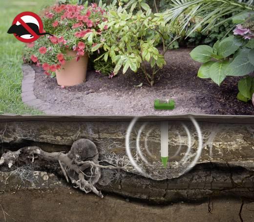 Napelemes vakondriasztó 700 m² Gardigo Alu Basic