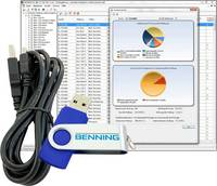 Szoftver Benning Software BENNING PC-WIN ST 750-760 PC szoftverek BENNING PC-Win ST 750-760, 047002 Benning
