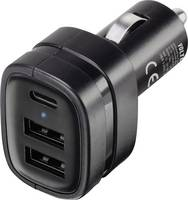 VOLTCRAFT VPC-3 VC-8332435 USB-s töltőkészülék Személygépkocsi Kimeneti áram (max.) 3 A 3 x USB VOLTCRAFT