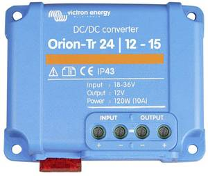 Victron Energy Orion-Tr 24/12-15 DC/DC gépjármű feszültségváltó-120 W (ORI241215200R) Victron Energy