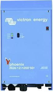 Victron Energy MultiPlus C 12/1200/50-16 Hálózati inverter 1200 W 12 V/DC - 230 V/AC Beépített töltésszabályozó Victron Energy