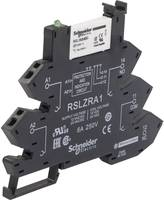 Dugaszrelé 1 db 24 V/DC, 24 V/AC 6 A 1 váltó Schneider Electric RSL1PRBU Schneider Electric