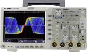 VOLTCRAFT DSO-6084E Digitális oszcilloszkóp 80 MHz 4 csatornás 1 GSa/mp 40000 kpts 8 bit Digitális memória (DSO) VOLTCRAFT