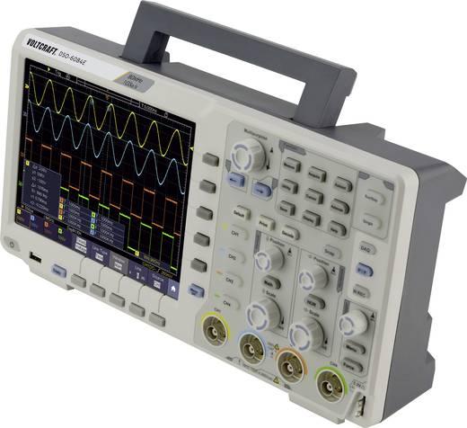 VOLTCRAFT DSO-6084E Digitális oszcilloszkóp 80 MHz 4 csatornás 1 GSa/mp 40000 kpts 8 bit Digitális memória (DSO)