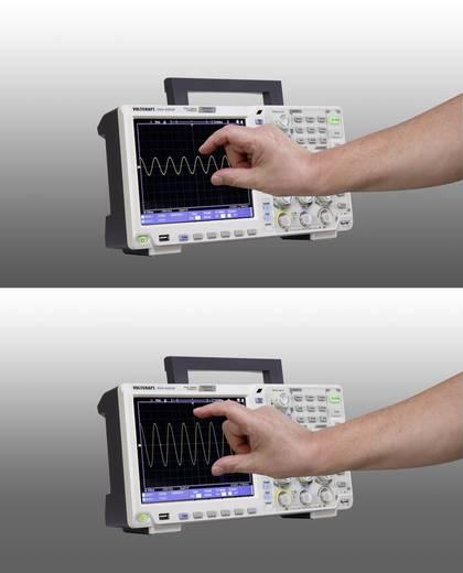 VOLTCRAFT DSO-6202F Digitális oszcilloszkóp 200 MHz 2 csatornás 1 GSa/mp 40000 kpts 14 bit Digitális memória (DSO), Füg