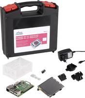 Raspberry Pi® 3 B+ Touch PC Set 1 GB 4 x 1.4 GHz Érintőképernyővel, Tápegységgel, Noobs OS-sel, Hűtőbordával, Tárolótásk MAKERFACTORY